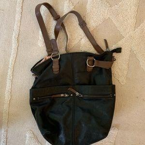 The SAK leather bag medium size
